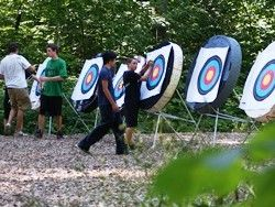 An image of the archery range.