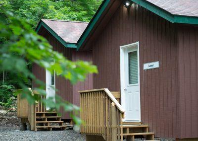 Wenonah Outdoor Centre Cabin Exterior