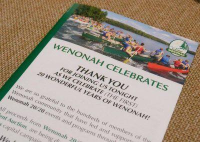 Camp Wenonah Celebrates Gala Oakville Anniversary 2020 (12)