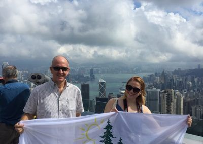 China (Hong Kong) - Jeff & Sydney Bradshaw (2016)