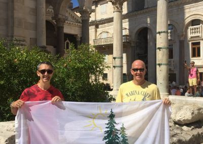 Croatia (Split) - Stu Halkett & Jeff Bradshaw (2016)