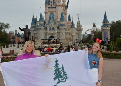 United States (Disney World) - Renata & Sydney Bradshaw (2016)