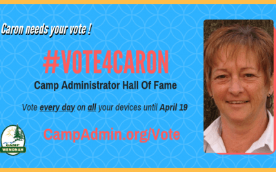 Vote Caron into the Camp Admin Hall of Fame